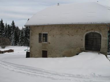 L'hiver, sous la neige