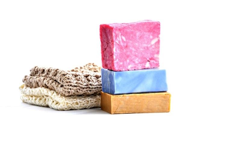 pain de savon à froid